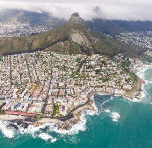 Kaapstad gefotografeerd van boven