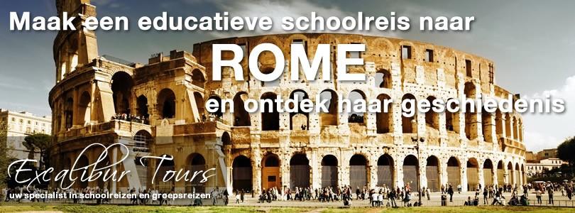 Maak een educatieve schoolreis naar Rome en ontdek haar geschiedenis