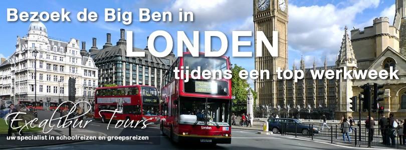 Bezoek de Big Ben in Londen tijdens een top werkweek