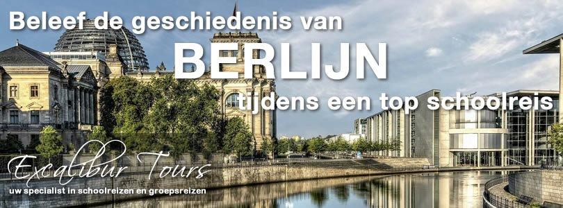 Beleef de geschiedenis van Berlijn tijdens een top schoolreis